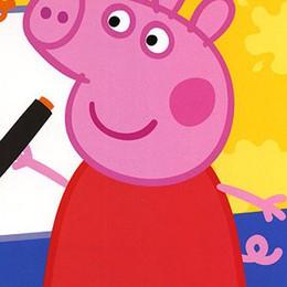 Peppa Pig in pediatria all'Ospedale  E a «Le Due Torri» di Stezzano