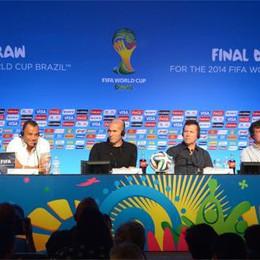 Mondiali, sorteggiati i gironi  Per l'Italia  Uruguay e Inghilterra