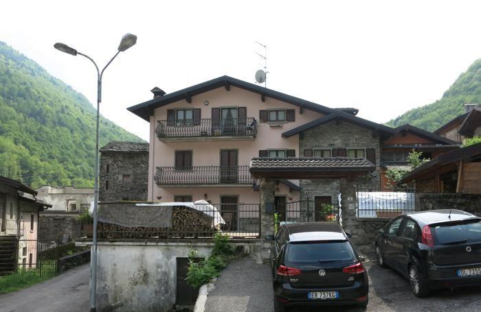 L'abitazione di Benvenuto Morandi