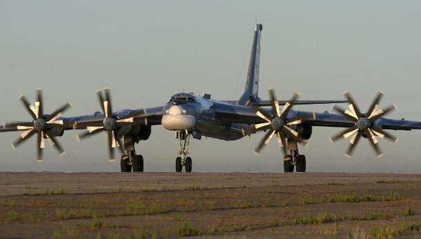 Aerei militari russi su cieli europei