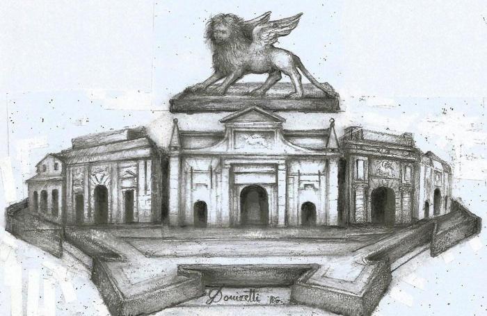 Il logo della candidatura Unesco realizzato dal pittore Mario Donizetti
