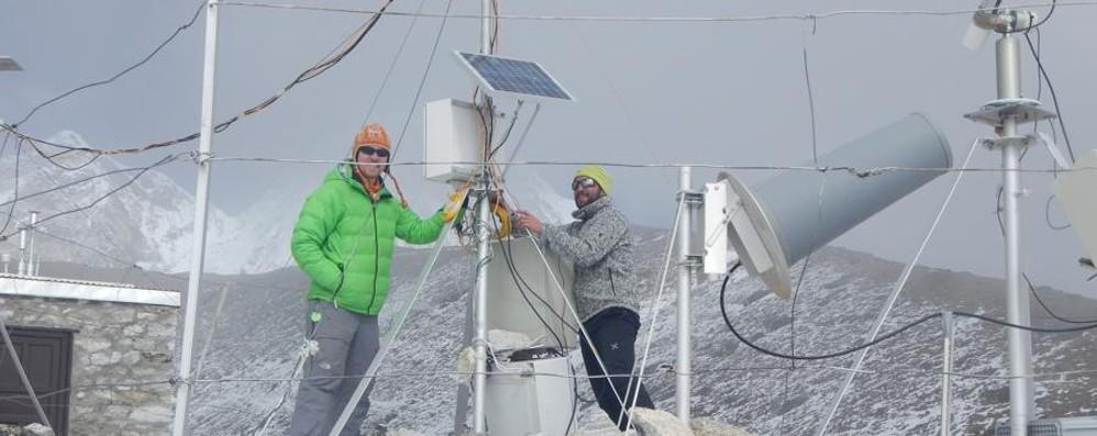Da Spirano sull'Everest a Natale Cacciatore di nuvole a 5 mila metri