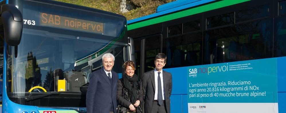 I due regali di Natale della Sab: 41 nuovi bus, mercoledì corse gratis
