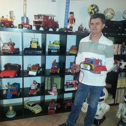 Restauratore di vecchi giocattoli  In mostra a Ponte fino al 17 maggio