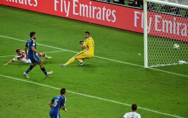 Germania  campione del mondo  Basta un gol nei supplementari