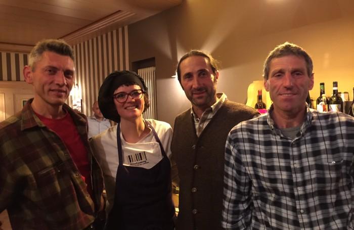 Da sinistra Giovannoni, Mazzola, Quarteroni e Benedetti