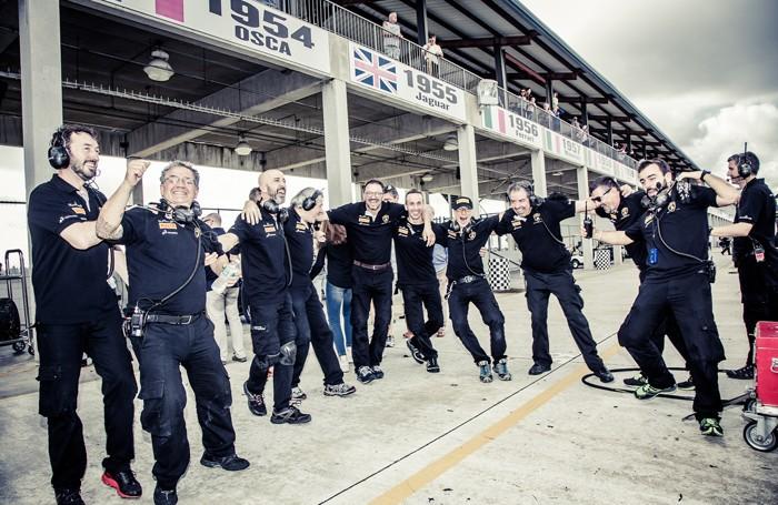 La gioia del Team Bonaldi Motorsport