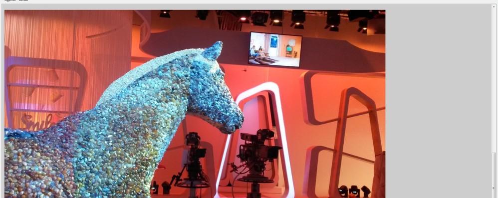 Il «Cavallo di gemme» arriva su RaiDue Va in onda la solidarietà di Africa  Tremila