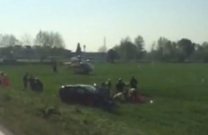 Le prime immagini dell'incidente