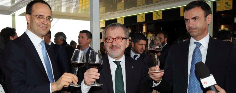 Maroni: una vetrina straordinaria Inaugurato il Padiglione Lombardia