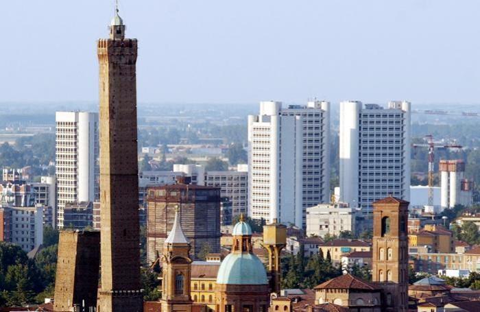 Una vista di Bologna