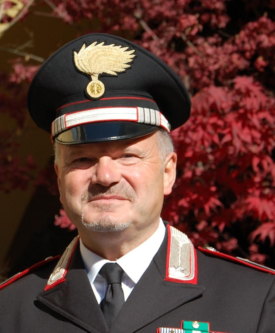Il luogotenente dei carabinieri Giovanni Mattarello