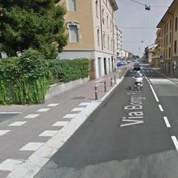 «Tram and bike» in Borgo Palazzo Lavori per un mese, disagi in vista