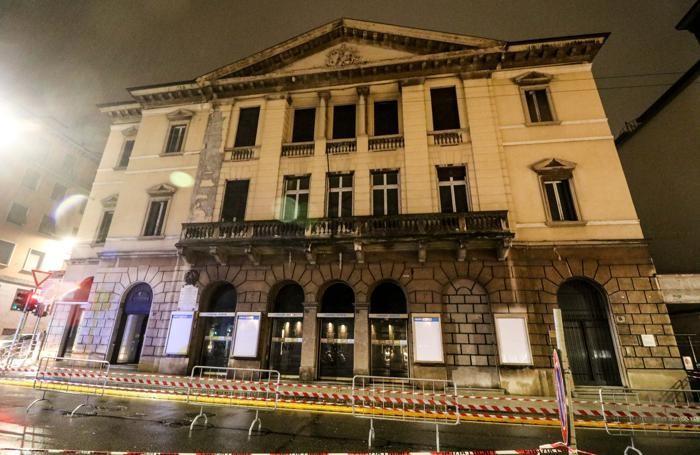 L'edificio dell'ex teatro Nuovo