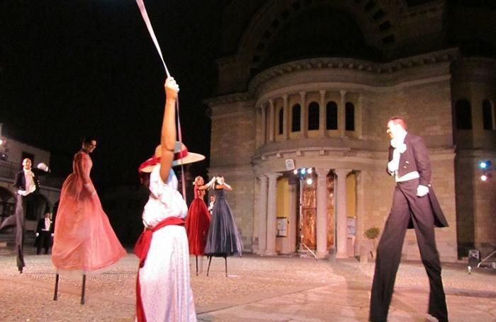 Uno spettacolo del Teatro Tascabile