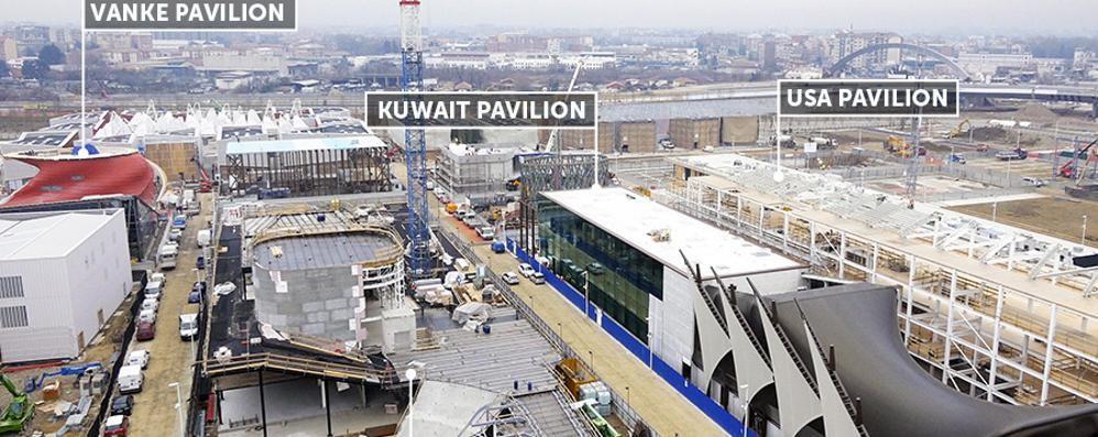 Il padiglione del Kuwait? A Brembilla Un pezzo di Expo sbarca in provincia