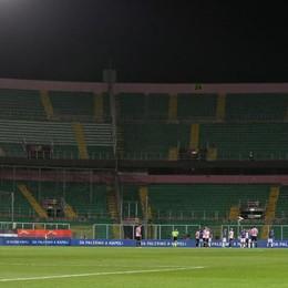 Stadio vuoto a Palermo