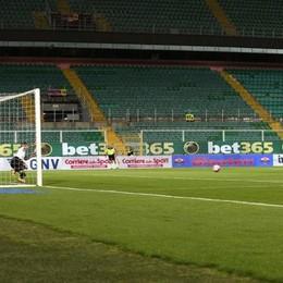 Il gol di Borriello su rigore