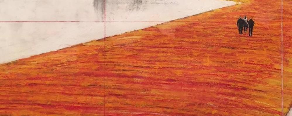 La passerella di Christo va in mostra  A Brescia mezzo secolo di lavori - foto