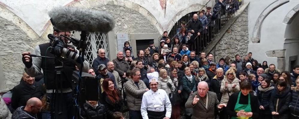 «Ricette all'italiana» su Rete 4 Le puntate di Clusone l'11 e 14 aprile