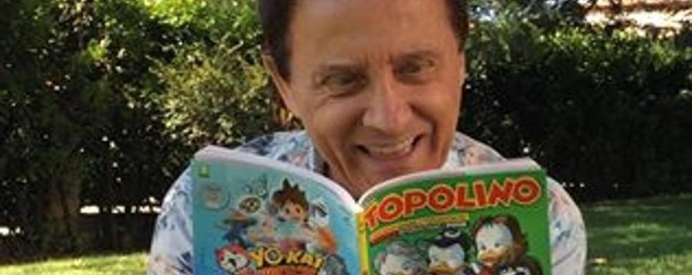I Pooh in  copertina su Topolino E Paperino si fa un selfie con loro