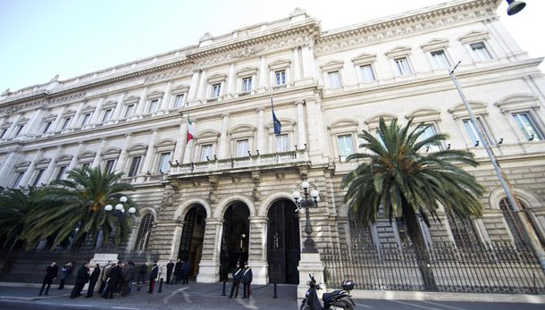Bankitalia,sofferenze banche a 199 mld