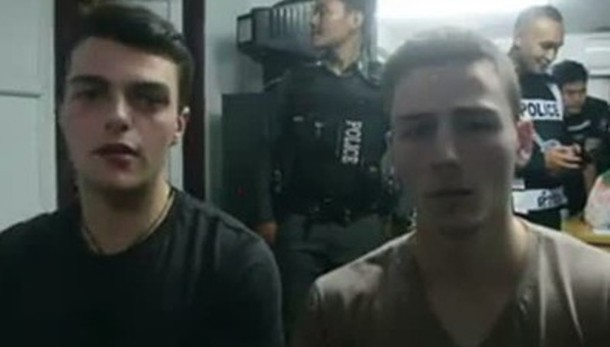 Thailandia: scarcerati i due italiani
