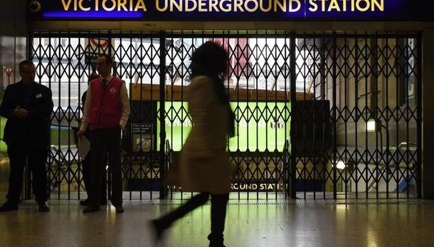 Nuovi scioperi per metro Londra