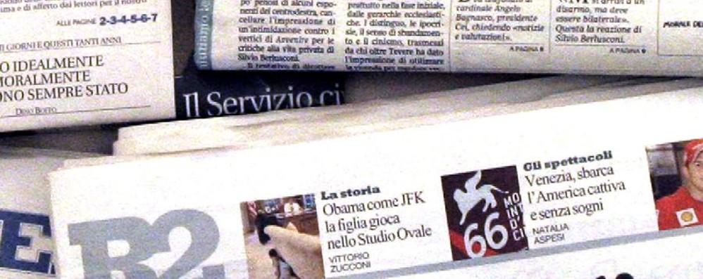 Diffondevano illegalmente giornali on line Colpo alla pirateria sul Web: chiusi 50 siti