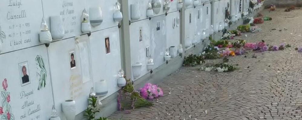 Cimitero di Tagliuno saccheggiato I ladri rubano anche le statue