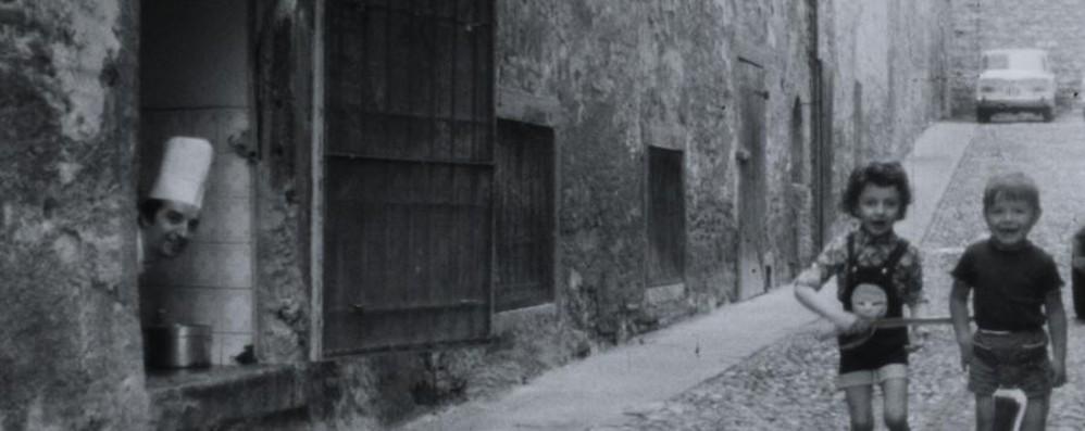 Il fascino di Città Alta d'altri tempi  Svelato da video amatoriali inediti -Guarda