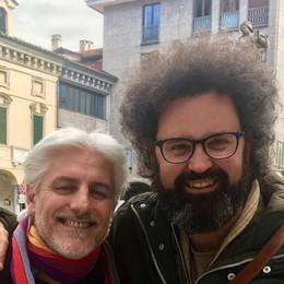 Simone Cristicchi ricorda Fra Giorgio «Il tuo sorriso illuminava il mondo»