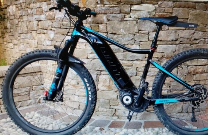 La bici elettrica rubata