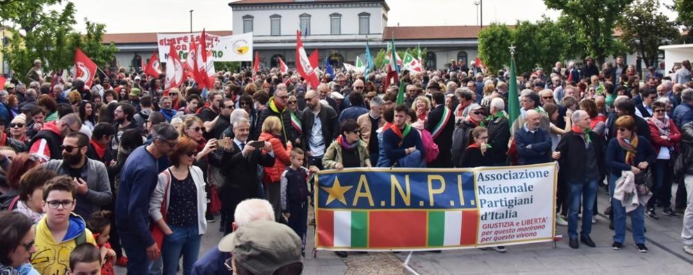 25 aprile, Gori: «Non è un derby» Stucchi: «Corteo divisivo»