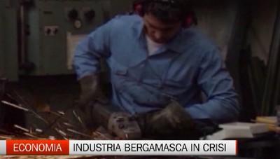 Economia - Industria bergamasca con il segno meno