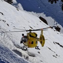 Domenica di incidenti in montagna Numerosi interventi dell'elisoccorso