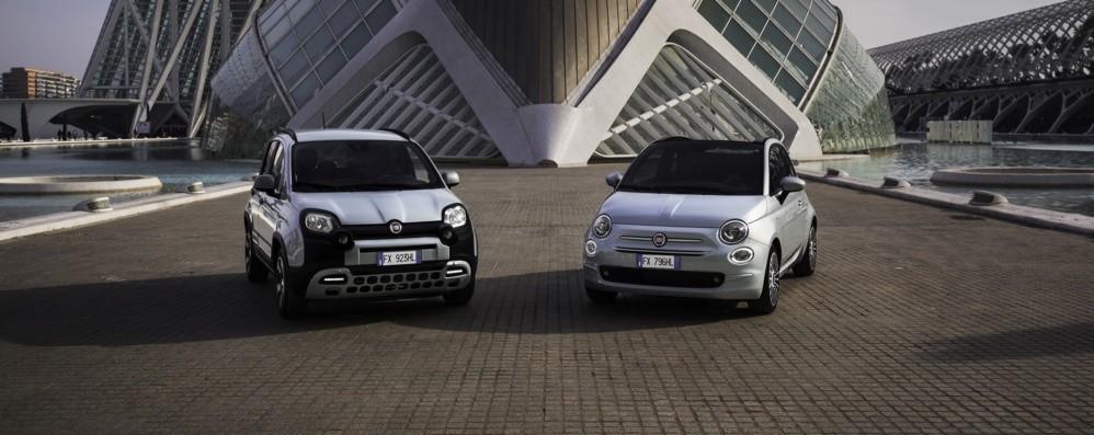 Fiat 500 e Panda Hybrid  in «versione» D-Fence