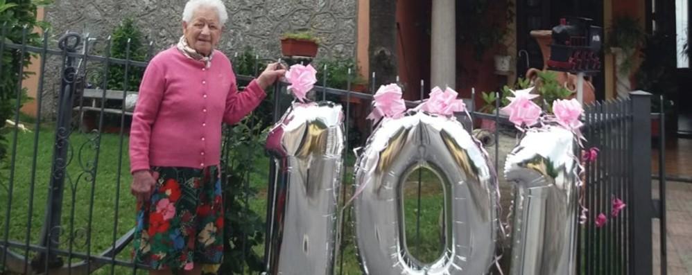 «Voglio vedere come va a finire» Parzanica, a 101 anni Maria sfida il Covid