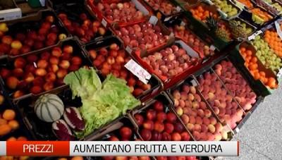 Il Coronavirus colpisce anche i consumi. Aumentano i prezzi di frutta e verdura