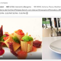 Tripadvisor premia il ristorante didattico Il Taste di Bergamo è «Travellers' choice»