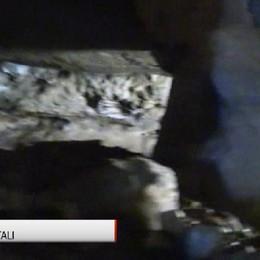 Il Grande Sentiero a Dossena Le miniere diventano sala cinematografica all'aperto