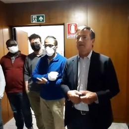 Gori alla Cgil di Bergamo: solidarietà dopo il blitz violento alla sede di Roma