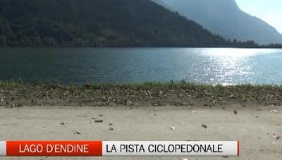 Lago d'Endine, i lavori alla pista ciclopedonale