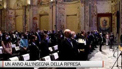 Bergamo - Inaugurato l'anno accademico dell'Università