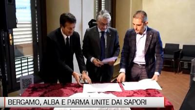 Città Creative Unesco: Bergamo, Parma e Alba unite dai sapori