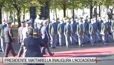 Inaugurata la nuova sede dell'Accademia Gdf con il Presidente Mattarella