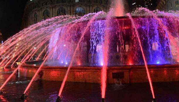Per Bergamo una fontana stile Genova all'uscita dell'A4