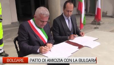 Bolgare, patto di amicizia e collaborazione con la Bulgaria