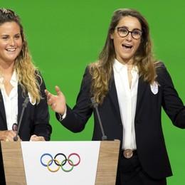 Sofia Goggia e Michela Moioli, portabandiera per gli azzurri alle Olimpiadi di Pechino 2022