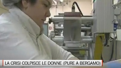 Anche a Bergamo la crisi colpisce soprattutto le donne